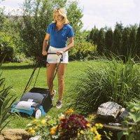 Koszenie trawy w domowym ogrodzie
